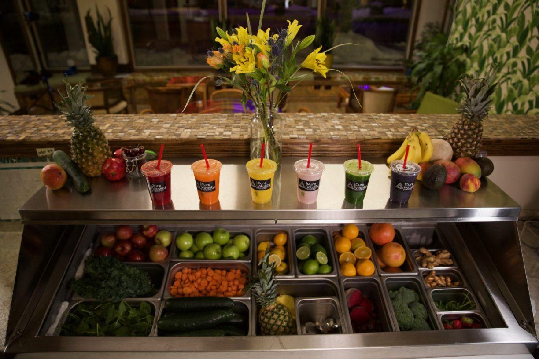 Full Juice Bar Menu Pure Vitality Juice Bar | Pure Vitality